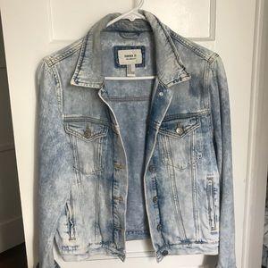 forever 21 acid wash denim jacket